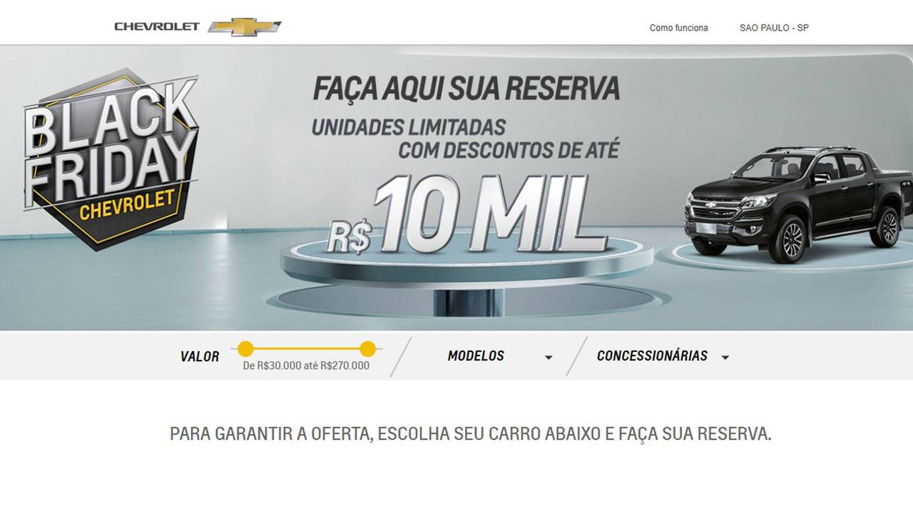 Chevrolet - Black Friday