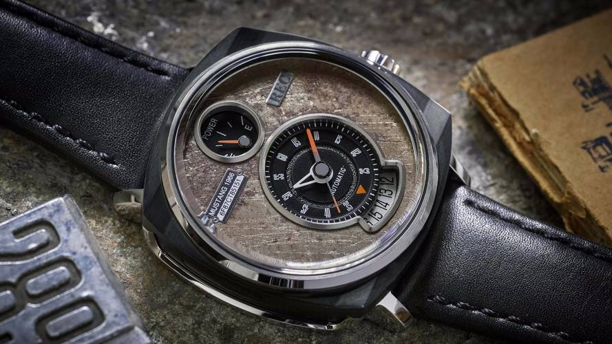 Old Ford Mustangs Get New Life As Unbelievably Cool Wrist Watches