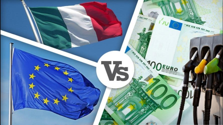 Tasse auto, Italia contro Europa