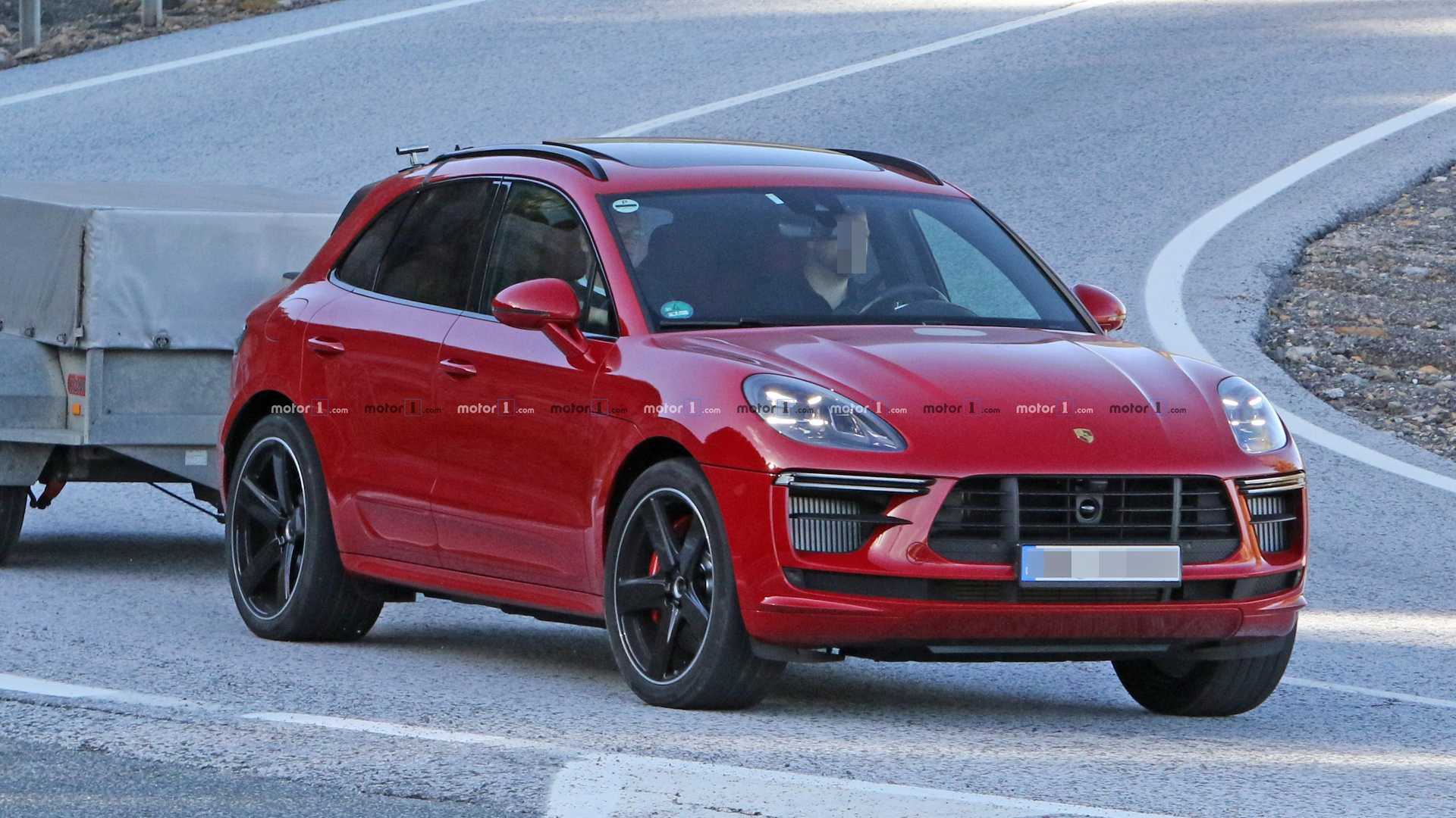 2020 Porsche Macan: News, Turbo, GTS, Release >> Porsche Macan Turbo Spied Doing A Little Towing Before Its Launch