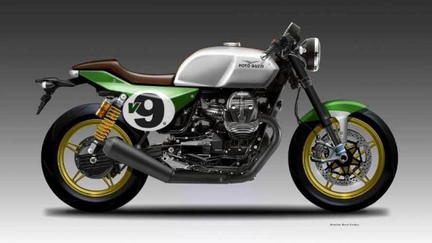 Moto Guzzi V9 Italian Racer, Trax e Over by Oberdan Bezzi