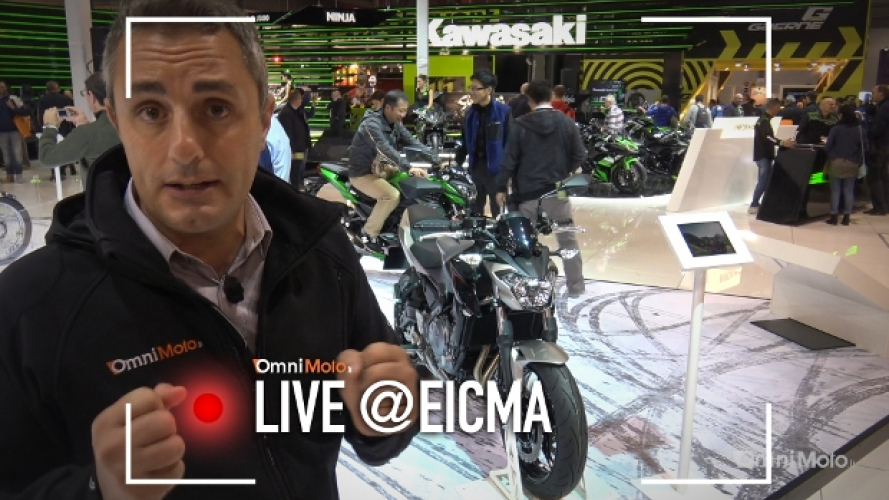 Kawasaki Z650 e Z900 a EICMA 2016 [VIDEO]
