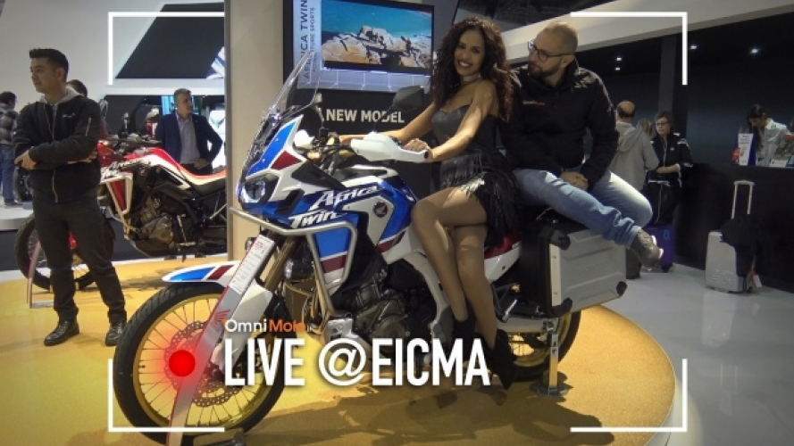 "Honda Africa Twin Adventure Sports, per lunghi viaggi... ""sporchi"" [VIDEO]"
