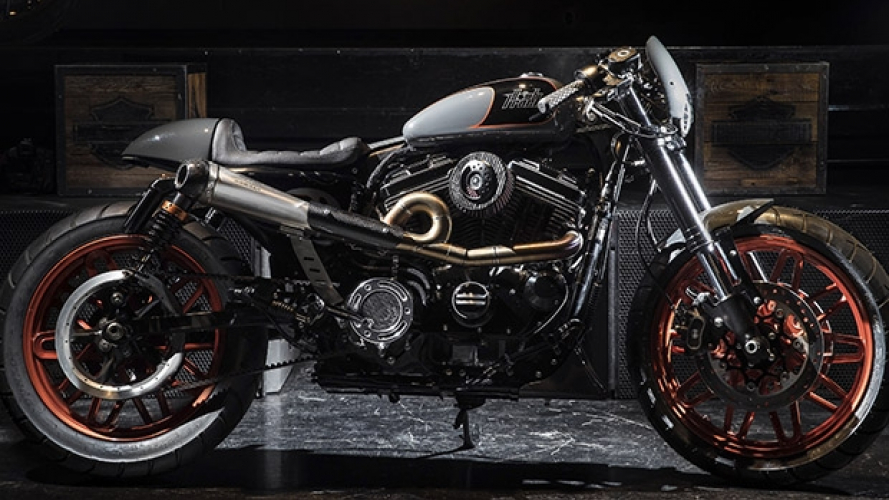 H-D, la Roadster di Harley Perugia vince Battle of the Kings 2017