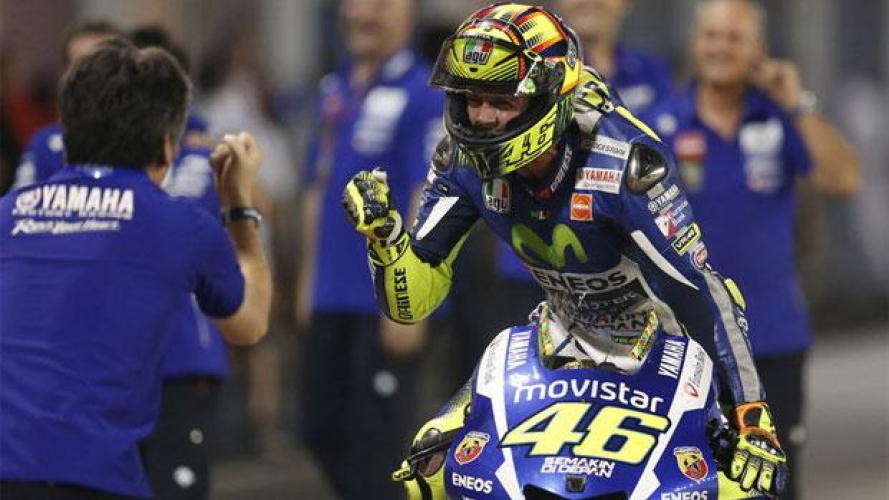 Valentino Rossi al Goodwood Festival of Speed 2015
