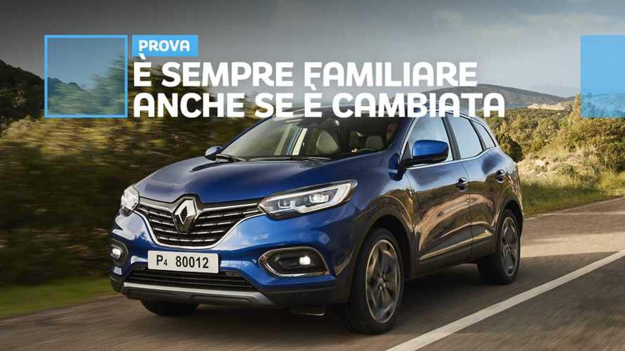 Renault Kadjar restyling, l'anti Qashqai alla francese