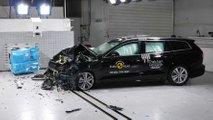 Yeni Volvo S60 ve V60, Euro NCAP çarpışma testi