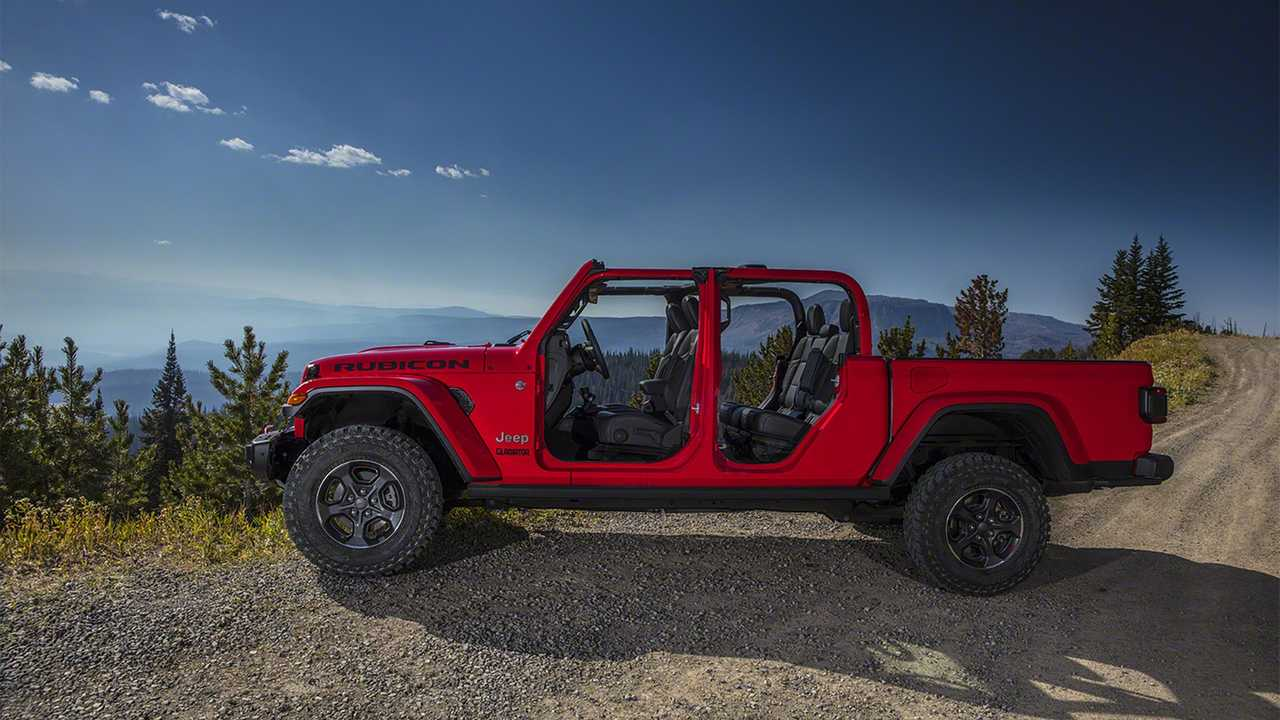 2020 Jeep Gladiator Debuts  Wrangler Truck With Off