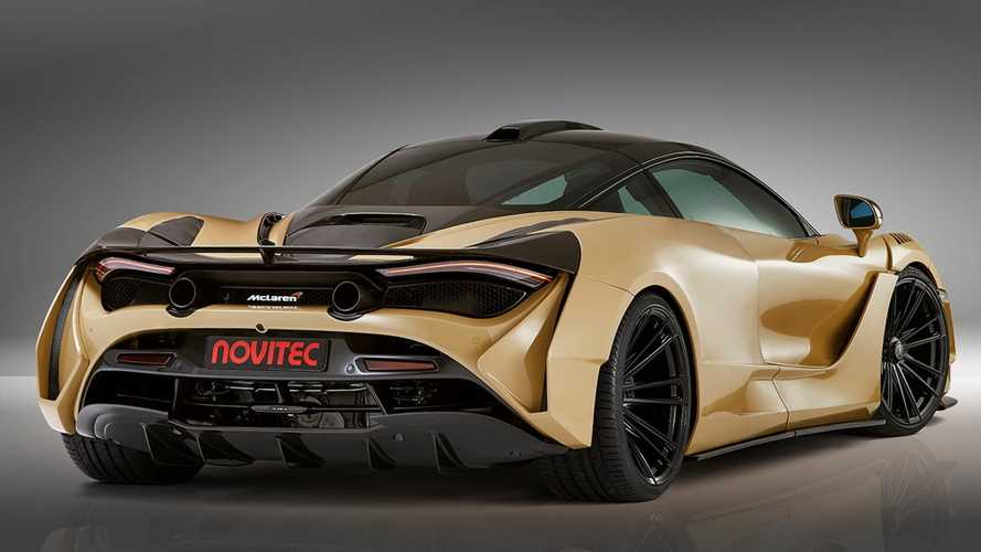 Novitec Modifiyeli McLaren 720S N-Largo