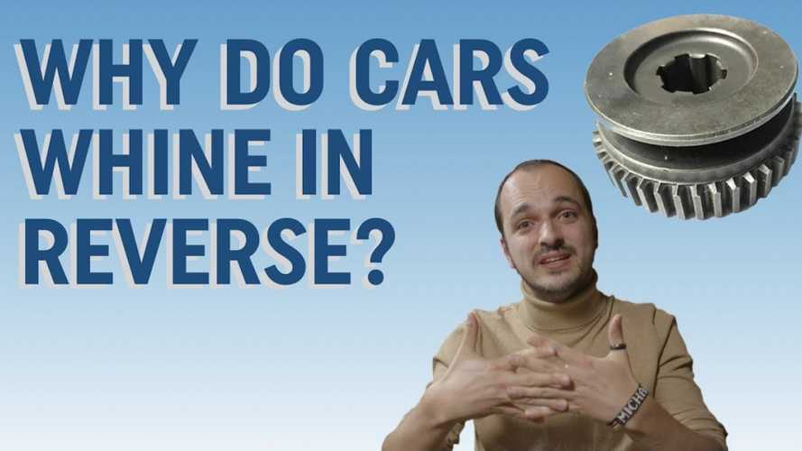 Here's why cars whine in reverse