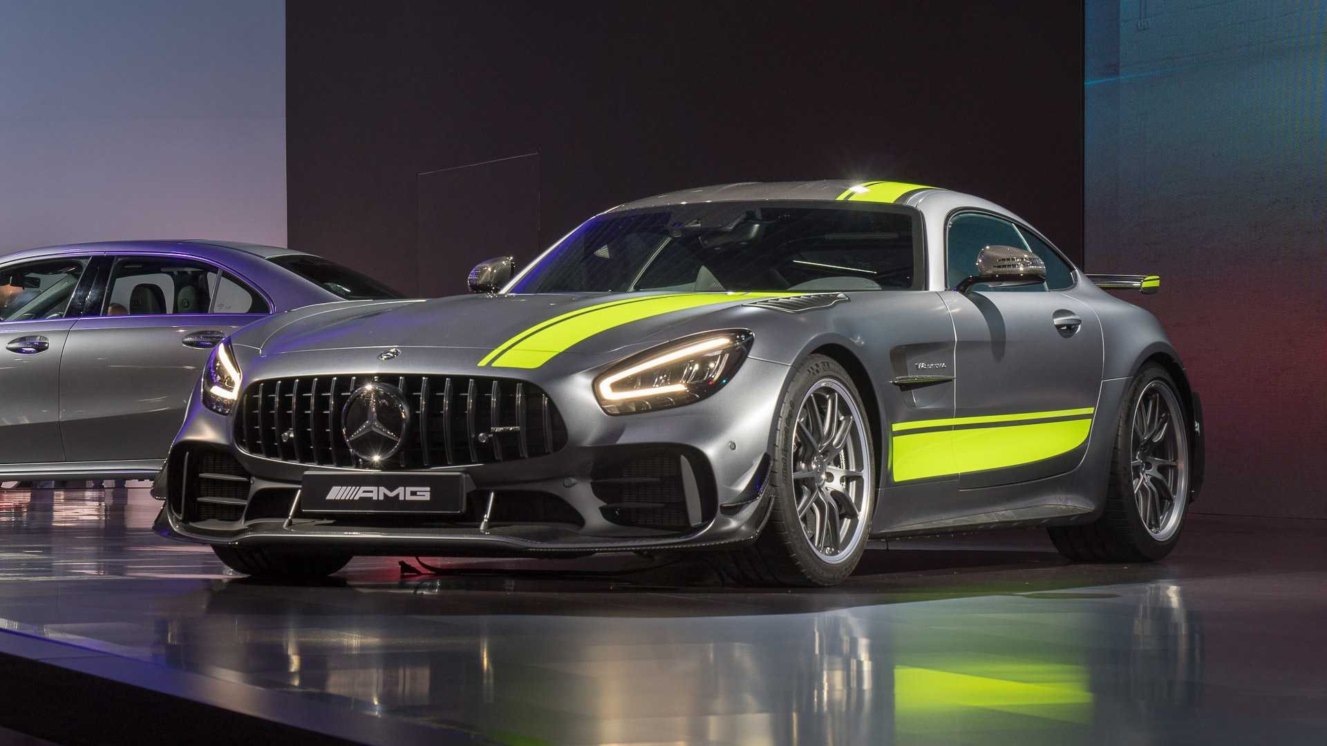 2020 Mercedes-AMG GT Revealed With Tech And Styling Updates