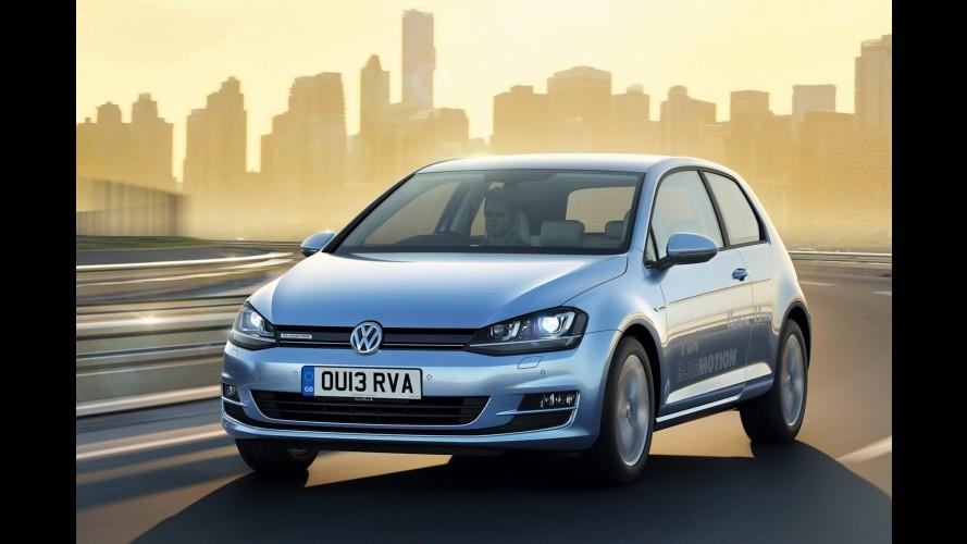 Reino Unido: Golf BlueMotion faz 31,2 km/l e custa R$ 63 mil