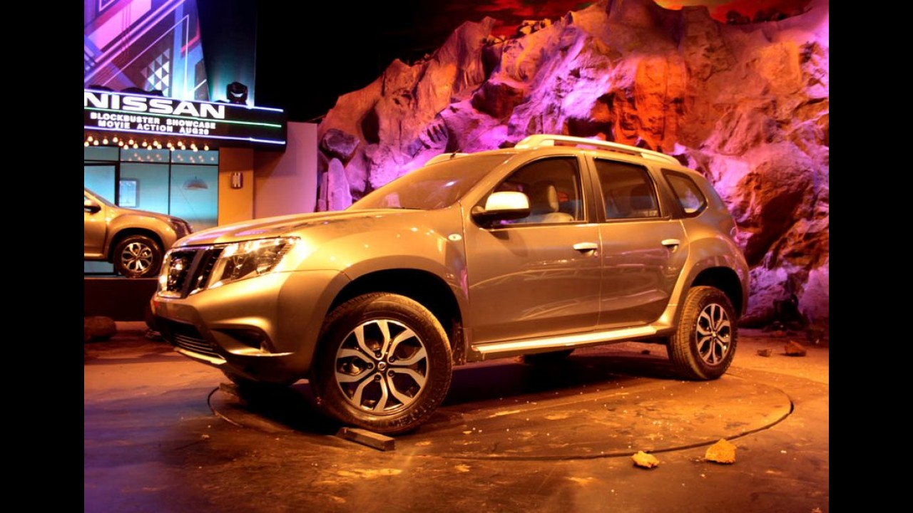 Melhor que o Duster, Nissan Terrano é lançado na Índia