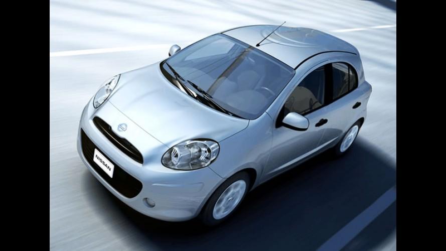 Nissan inicia produção do compacto March para o mercado brasileiro