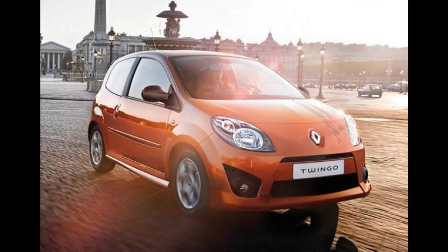 Renault Twingo ganhará versão elétrico