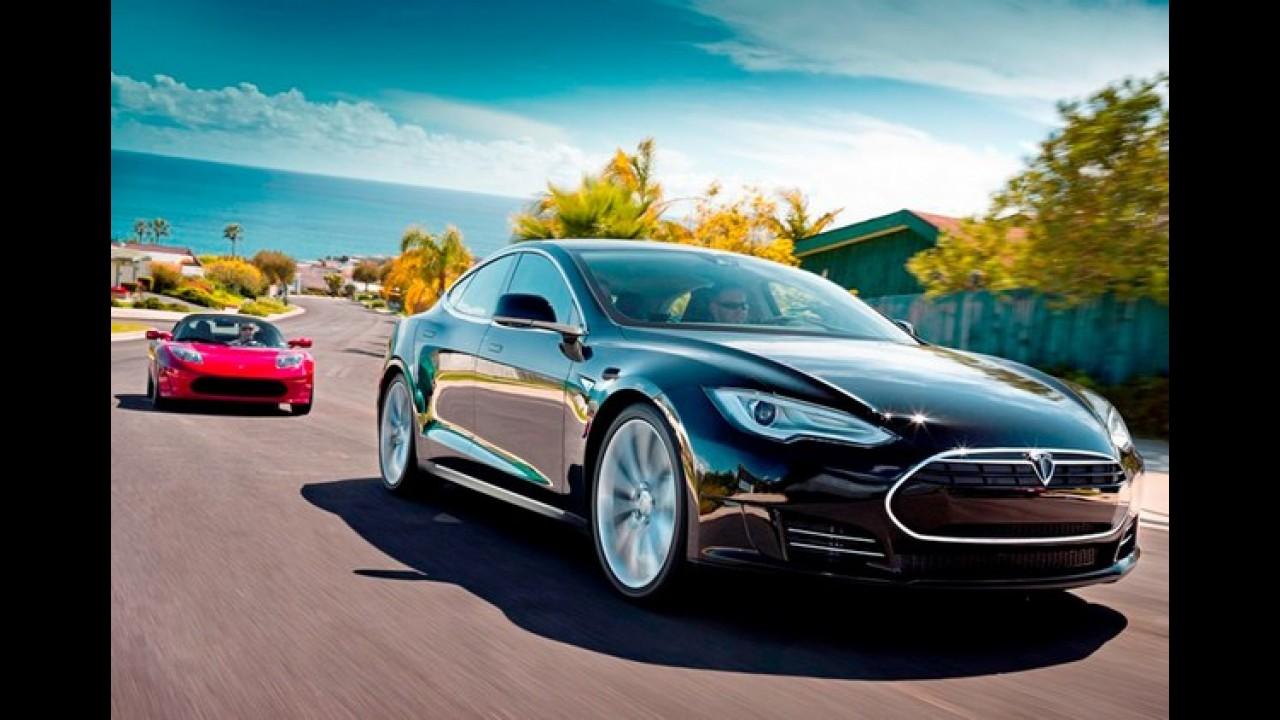 Tesla anuncia que lançará sedã e crossover menores até 2017