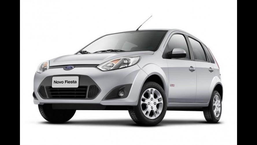 Ford oferece mais itens de série para o Fiesta Rocam e mantém preço
