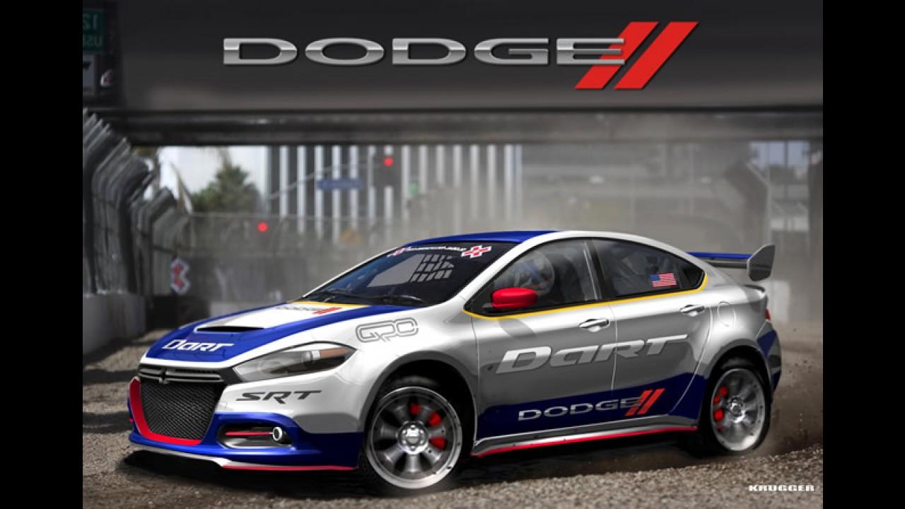 Dodge leva o novo Dart ao mundial RallyCross