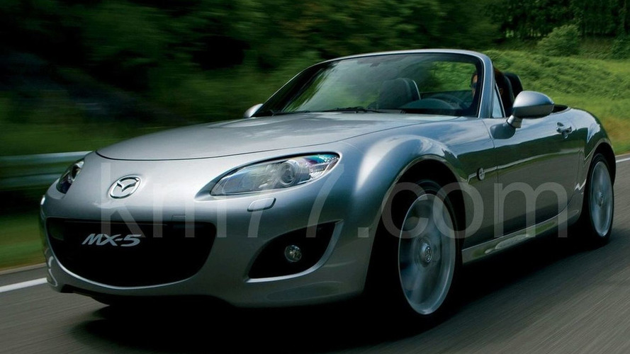 Mazda MX-5 Unofficially Revealed