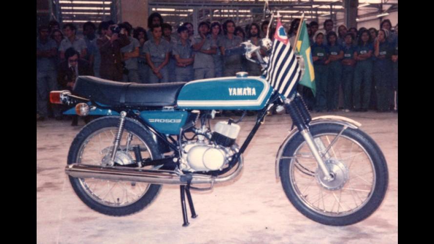 Yamaha comemora 40 anos no Brasil