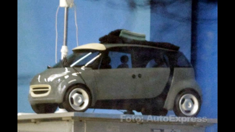 Segredo! Flagra mostra inédita versão Smart ForTwo+2 para quatro passageiros