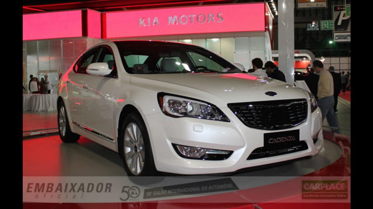Kia quer vender mais de 100 mil carros no Brasil em 2011