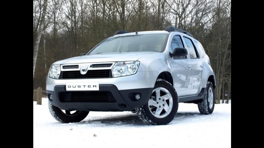 Renault prepara lançamento da marca Dacia no Reino Unido para dezembro de 2012