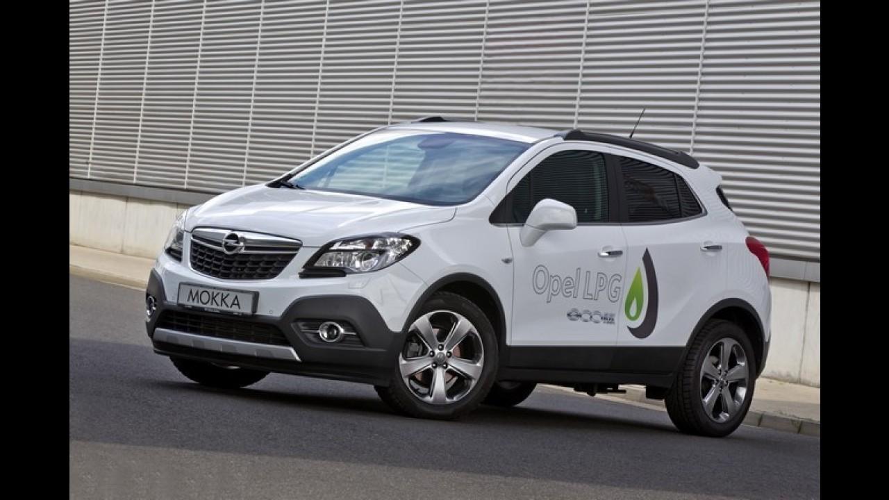 Irmão do Tracker, Opel Mokka ganha versão movida a gás na Europa