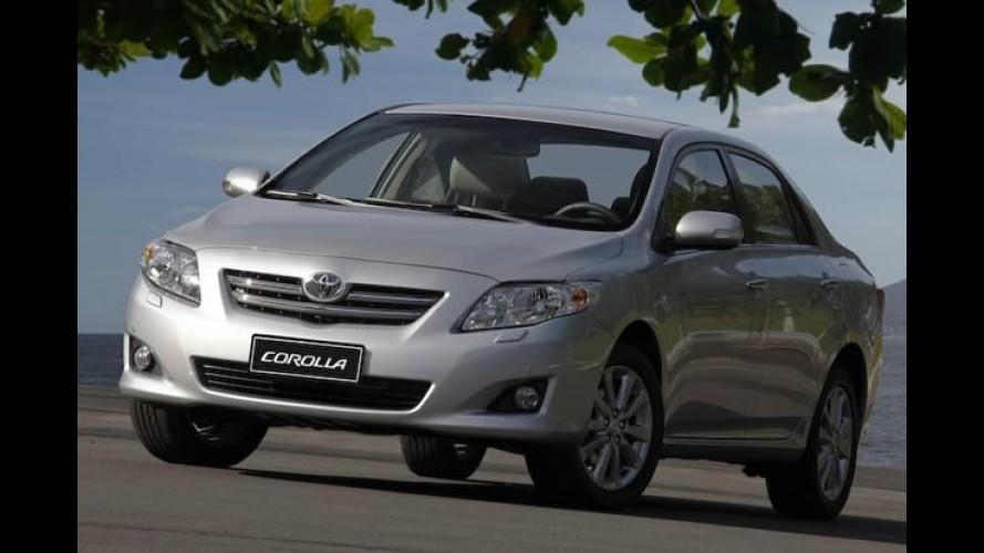 Toyota realizará Recall para os modelos Corolla, RAV4 e Camry no Brasil