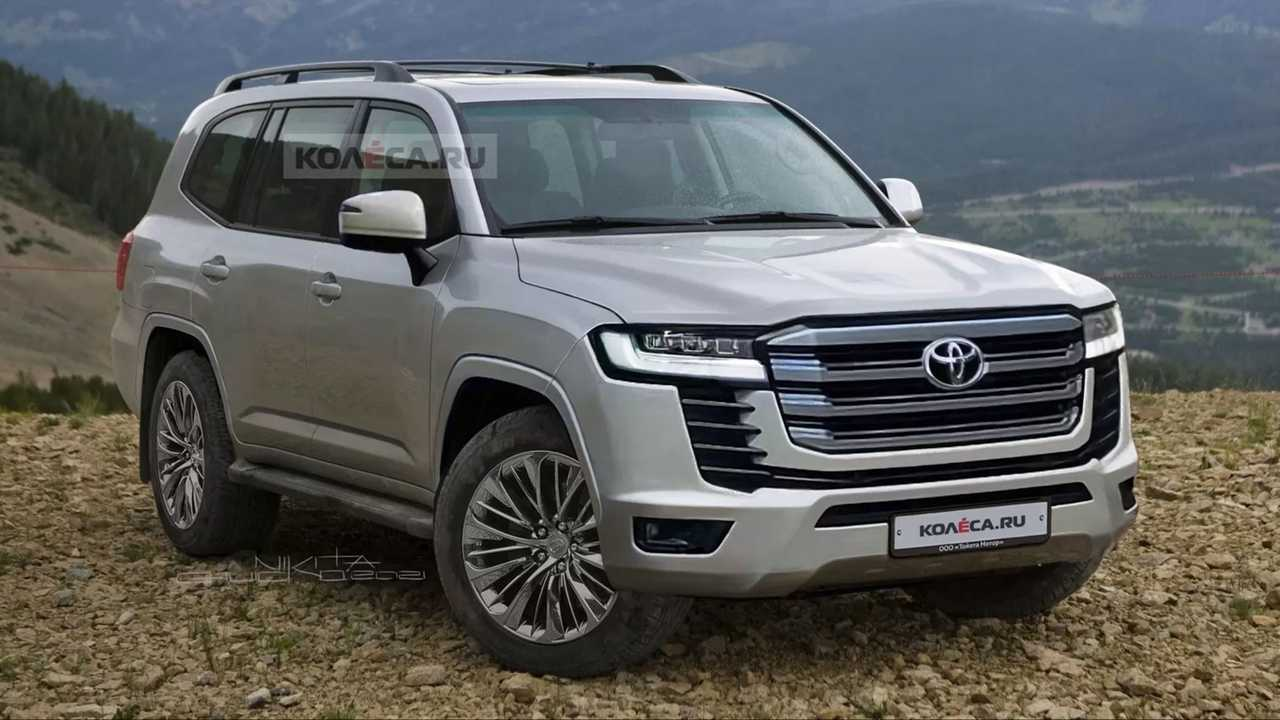 Unofficial next-gen Toyota Land Cruiser renderings.
