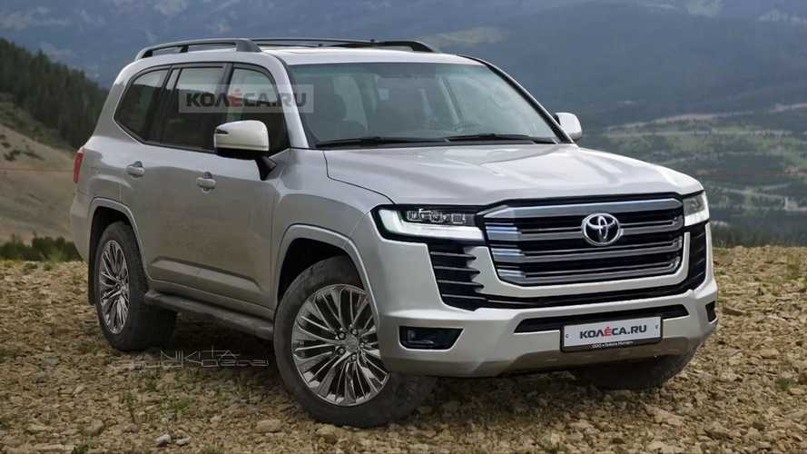 Neuer Toyota Land Cruiser in Renderings