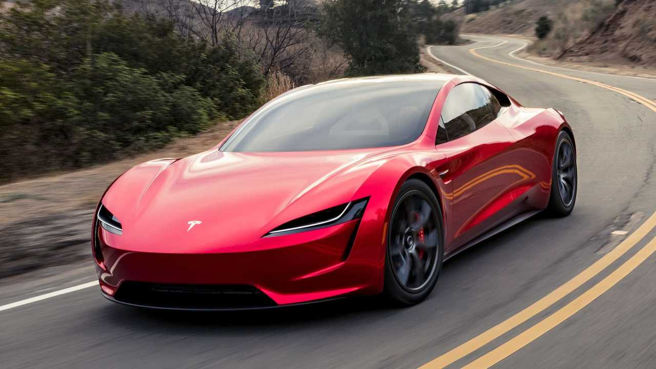 Tesla Roadster Ön cephe
