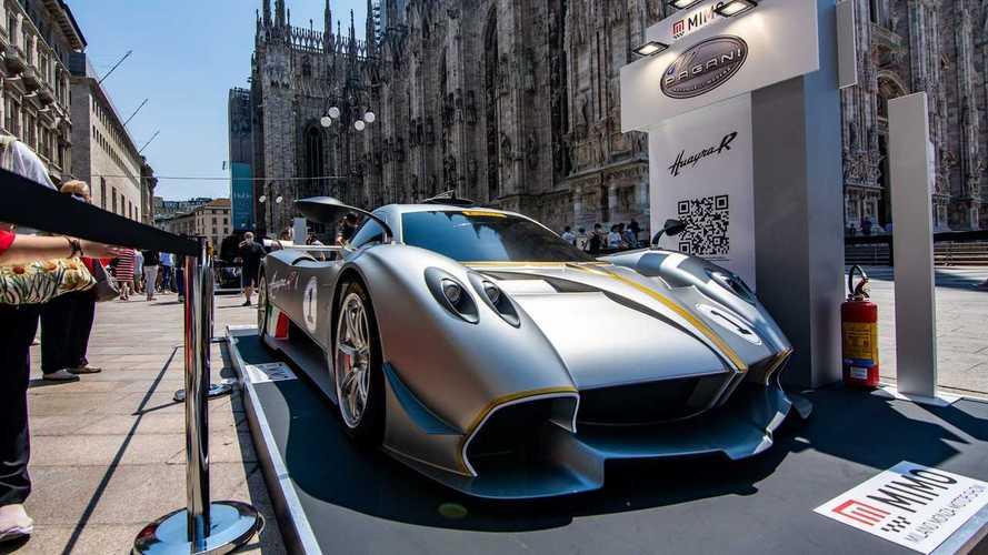 Pagani Huayra R: estreno mundial en el salón de Milán Monza 2021