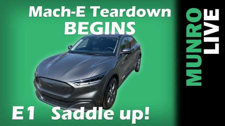 Munro & Associates Begins Ford Mustang Mach-E Teardown