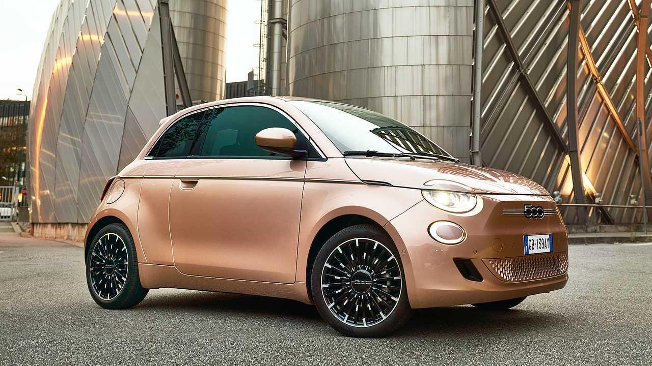 Fiat 500 elettrica 3+1
