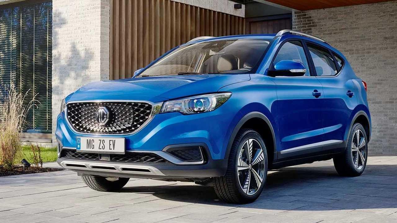 Der MG ZS EV ist nun bei 25 deutschen Händlern erhältlich