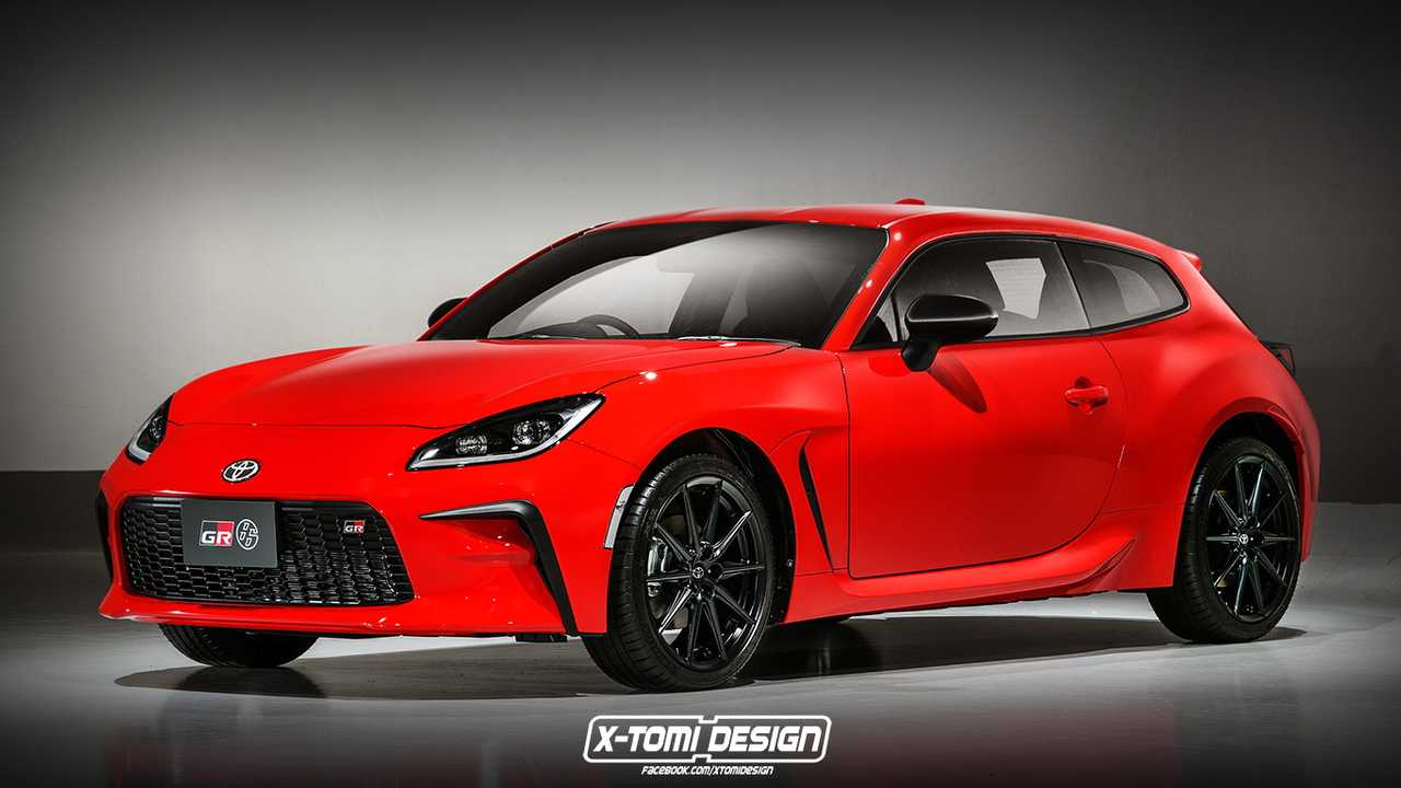 This is how a new Toyota GR 86 might look as a three-door shooting brake.