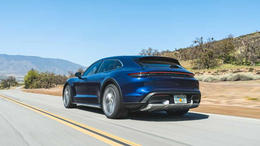 2021 Porsche Taycan Turbo Cross Turismo First Drive Review