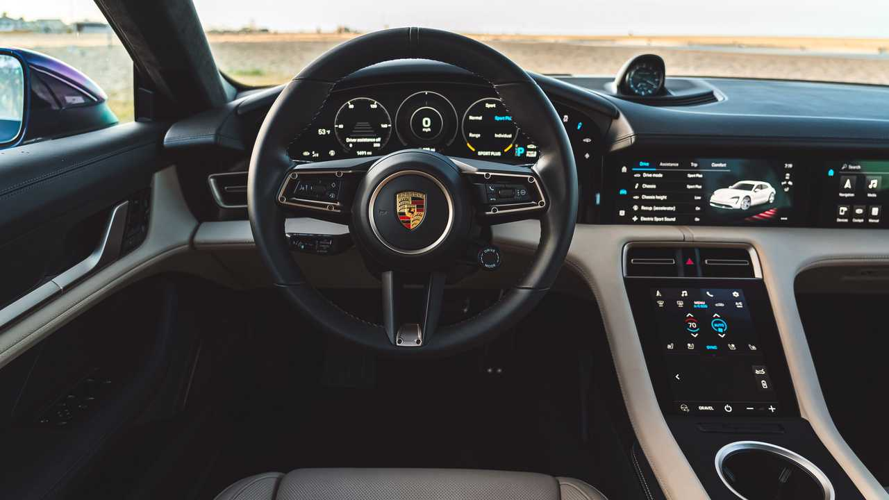 2021 Porsche Taycan Turbo Cross Turismo Interior Dashboard