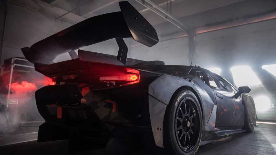 Lamborghini Squadra Corse teases new model with roof-mounted scoop