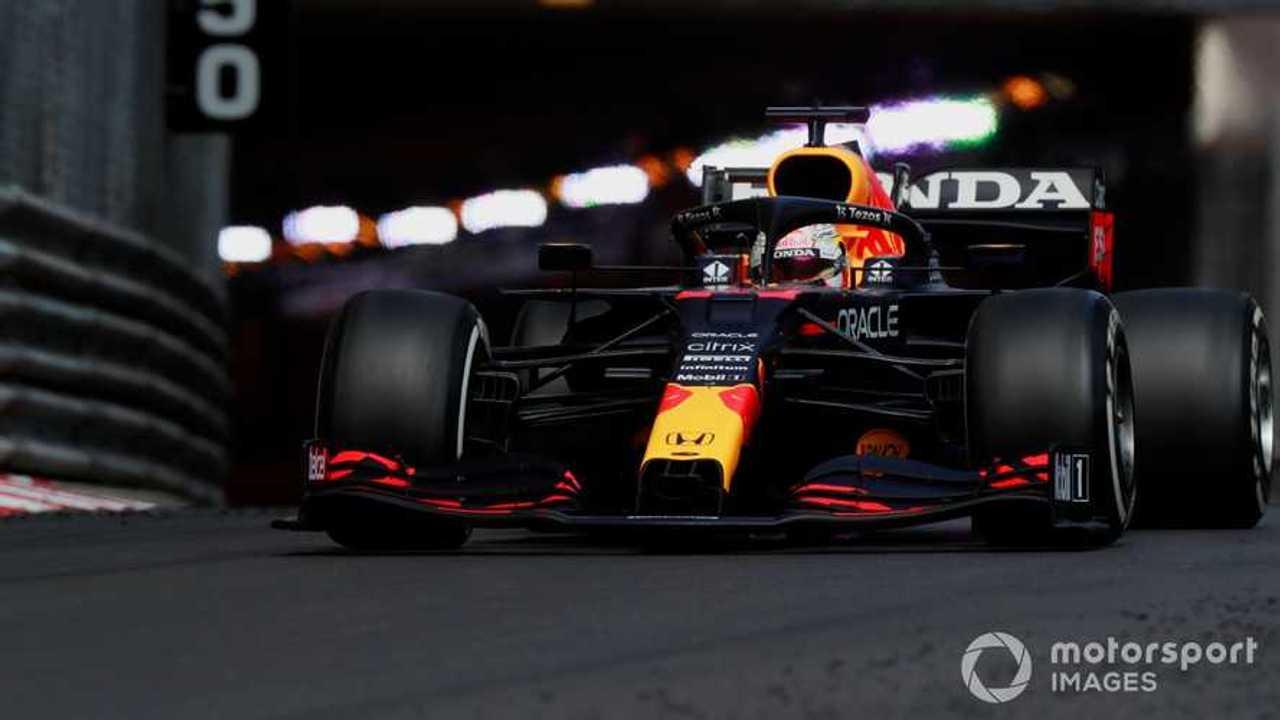Max Verstappen at Monaco GP 2021