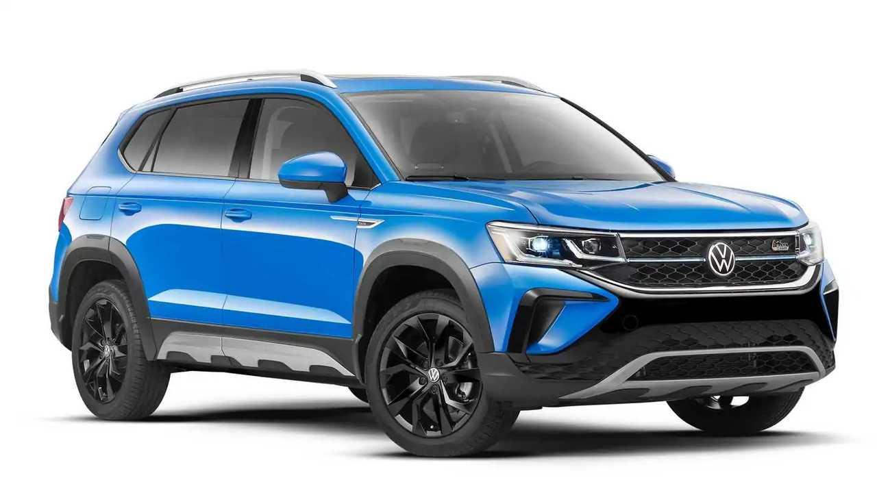Volkswagen Taos 2021 con el nuevo paquete off-road Basecamp