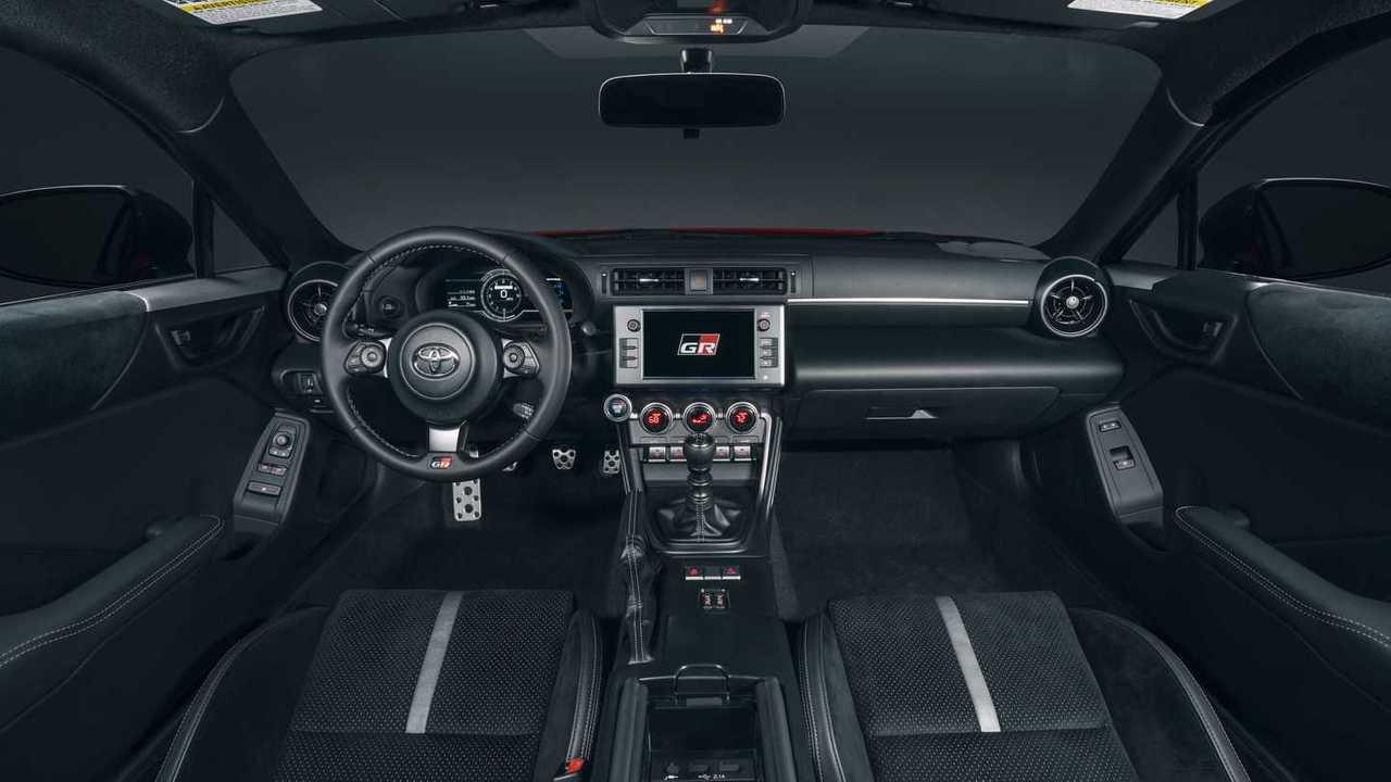 2022 Toyota GR 86 Tablero de instrumentos interior