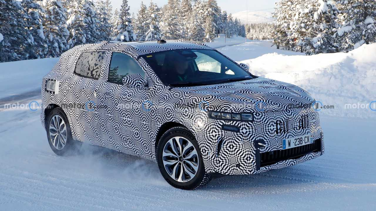 Nuova Renault Kadjar, le foto spia