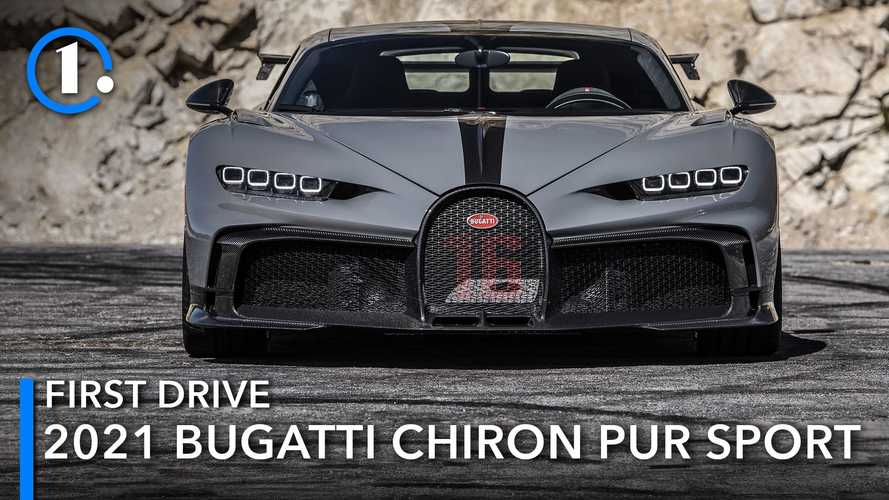 2021 Bugatti Chiron Pur Sport First Drive Review: Making The Jump To Hyperspace