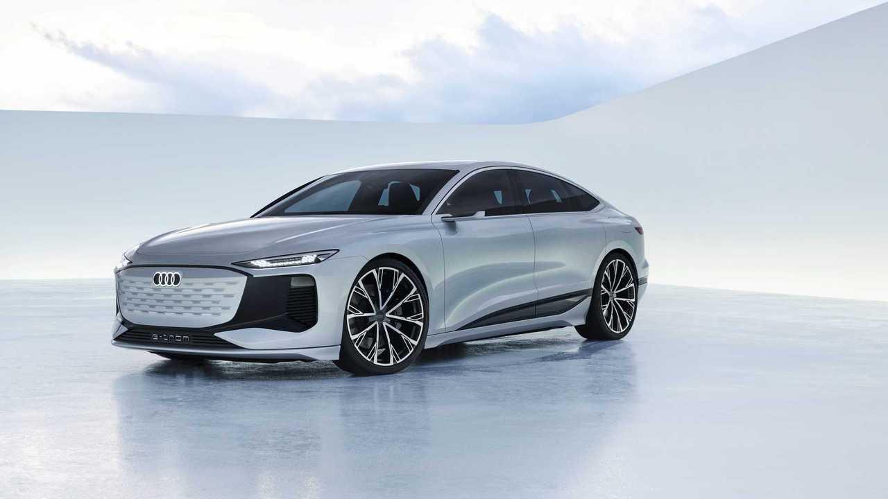 Audi A6 E-Tron Concept Shanghai