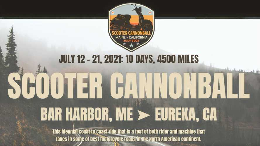 2021 Scooter Cannonball Will Roll Across America This July