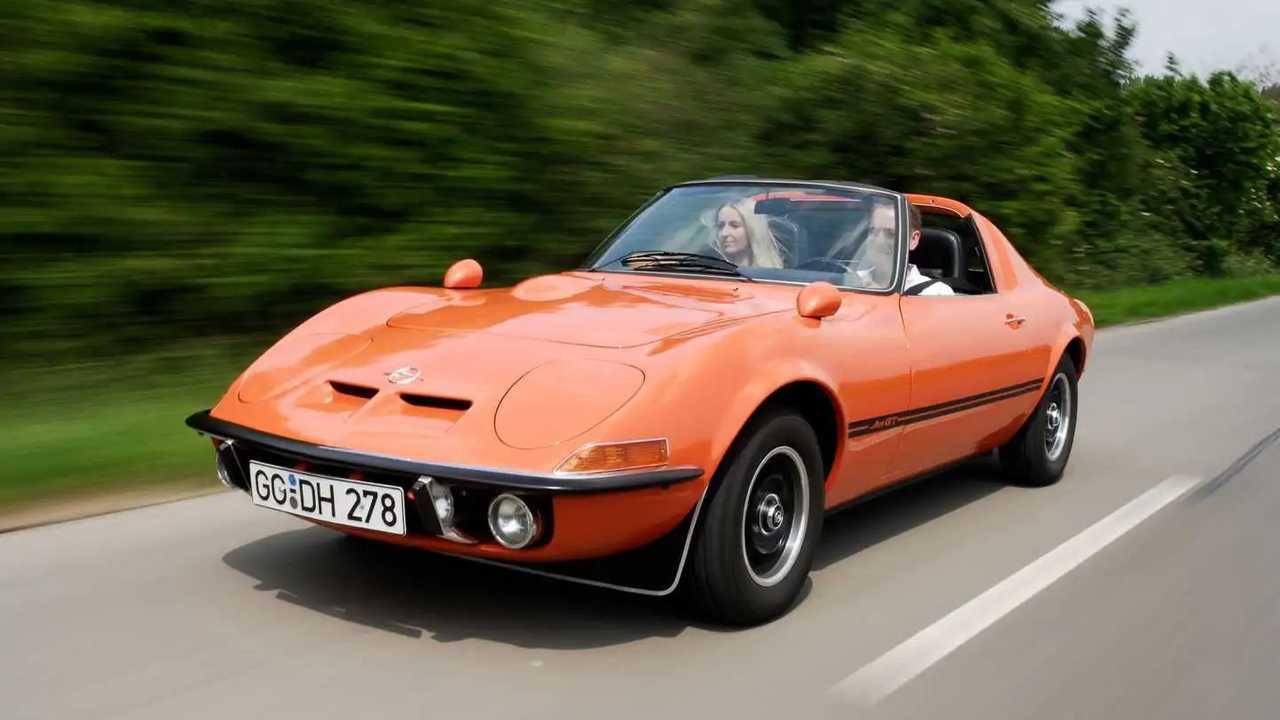 Sadece iki örneği bulunan 1969 Opel Aero GT.