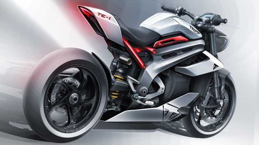 Triumph révèle la TE-1, sa future Speed Triple électrique