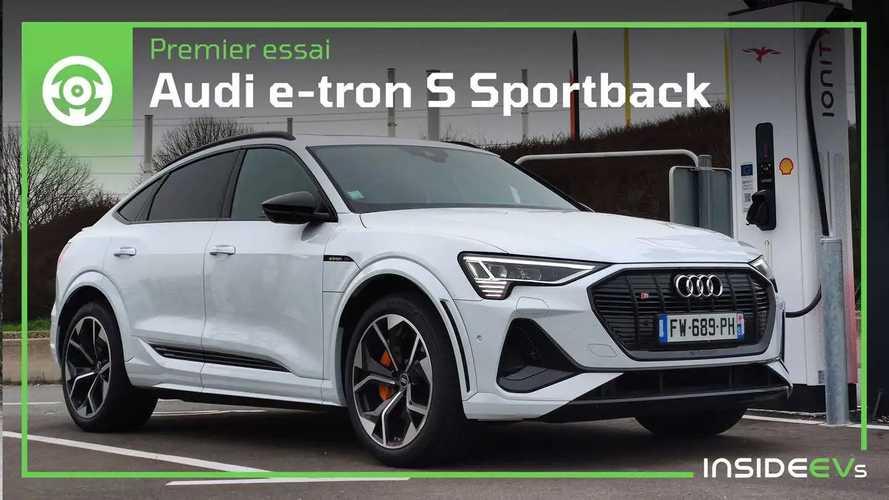 Essai Audi e-tron S Sportback - S comme Super luxueux